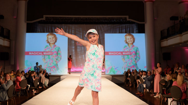Magical Mary Daisy Days Runway