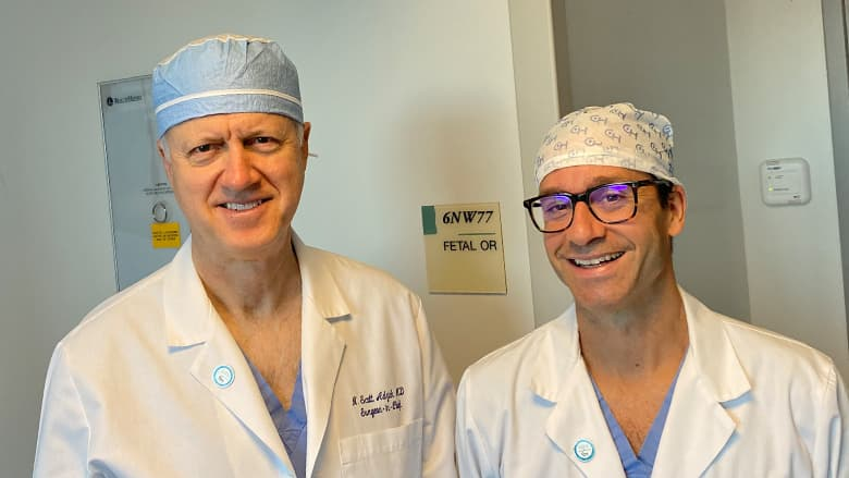 Drs. Adzick and Peranteau