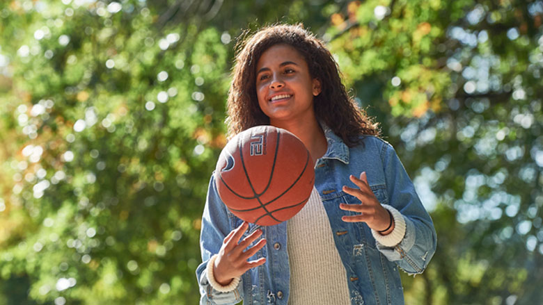 Avery Stroke Patient, Basketball Player