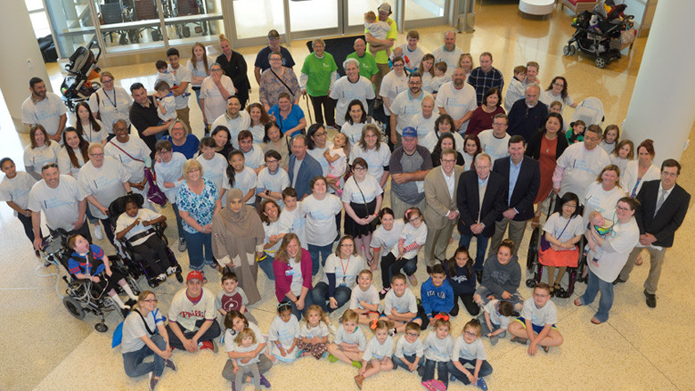 Center for Thoracic Insufficiency Syndrome (CTIS) Family Reunion