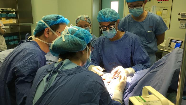 CHOP Doctors visit China and demonstrate a procedure to repair hypospadias