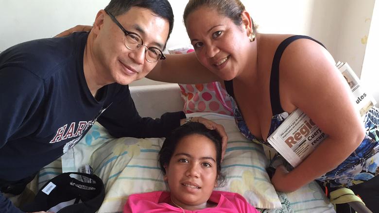 Cleft patient Venezuela
