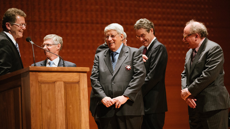 Dr. Stephen Ludwig recieves Austrian Government Grand Decoration of Honor Award
