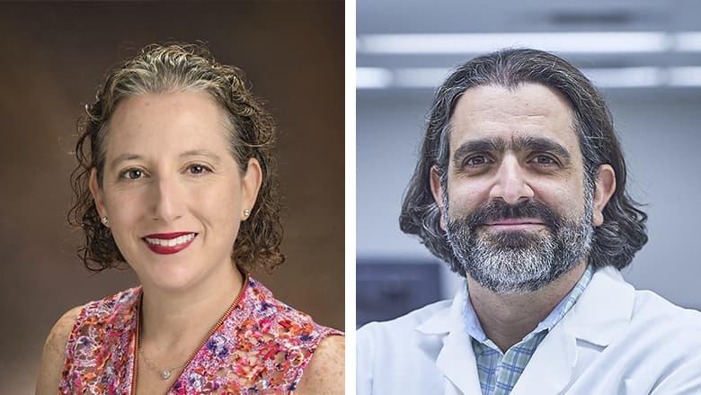 Marni Falk, MD and Adam Resnick, PhD
