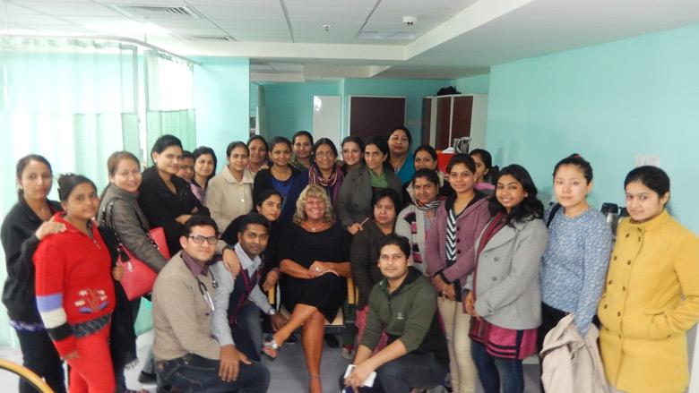 Graduation of Lactation Councelors in Delhi
