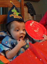 Jonathan Ryan 1st Birthday