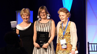 Kathleen Sullivan receives Boyle Award