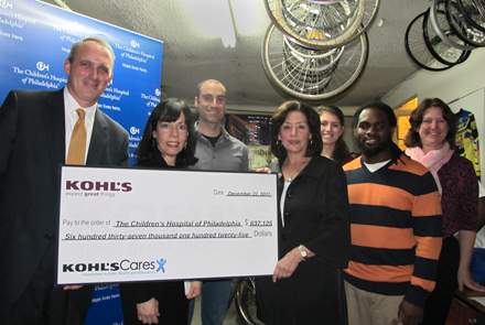 Kohls Cares Donation