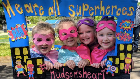 Little Beans Superhero Walk