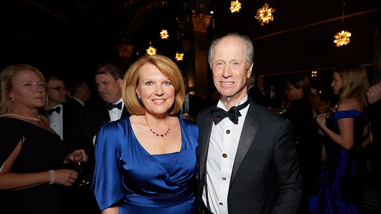 CHOP CEO Madeline Bell at Carousel Ball