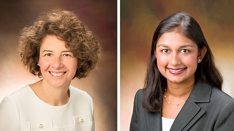 Terri Brown-Whitehorn, MD and Rushani Saltzman, MD