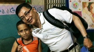 chop clinician with venezuelan boy