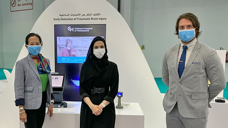 CHOP Features Innovative Concussion Research at Arab Health 2021 Conference