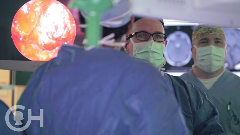neurosurgeons in operating room