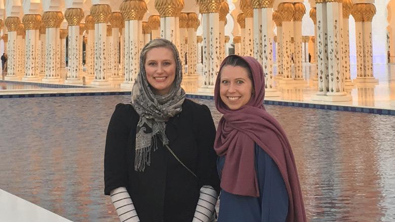 Nurses in Abu Dhabi