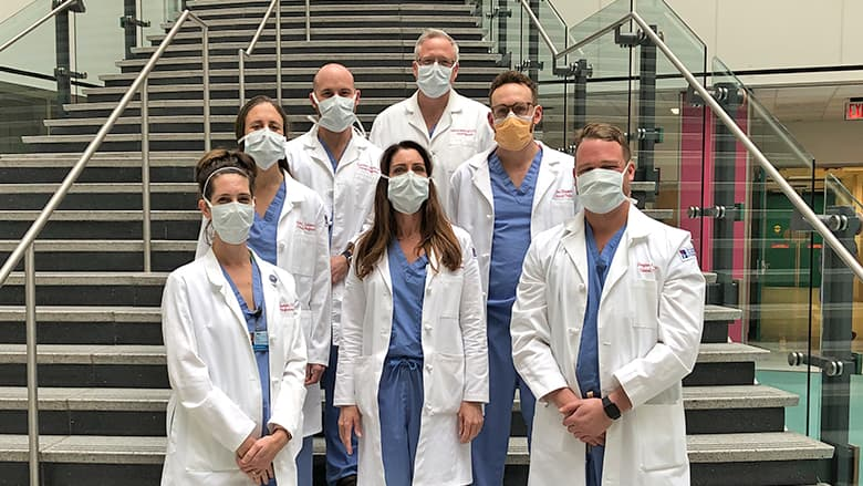Members of CHOP Perfusion Department in group photo