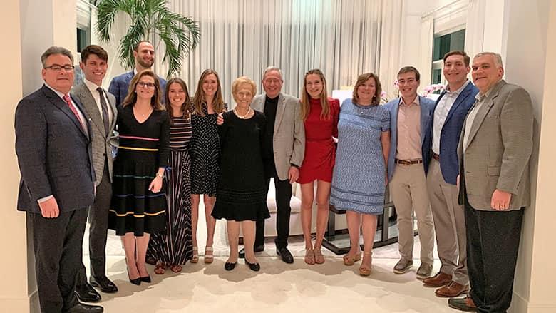 Abramson family group photo