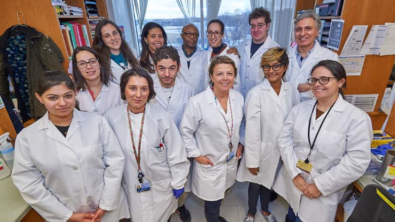 Group photo of research team