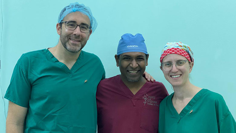 CHOP Urologists Travel to Trinidad and Tobago