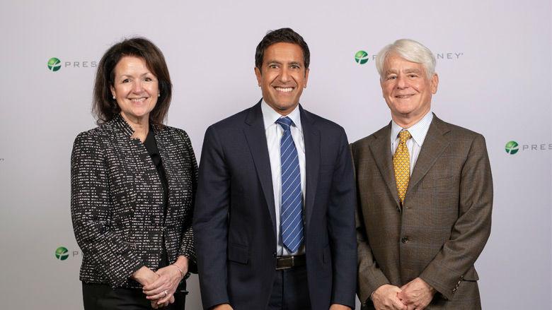 Kathryn A. Conaboy, Dr. Sanjay Gupta, Alan Cohen, MD