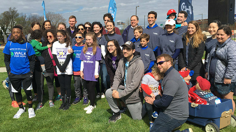 Group of Walk for Hope participants