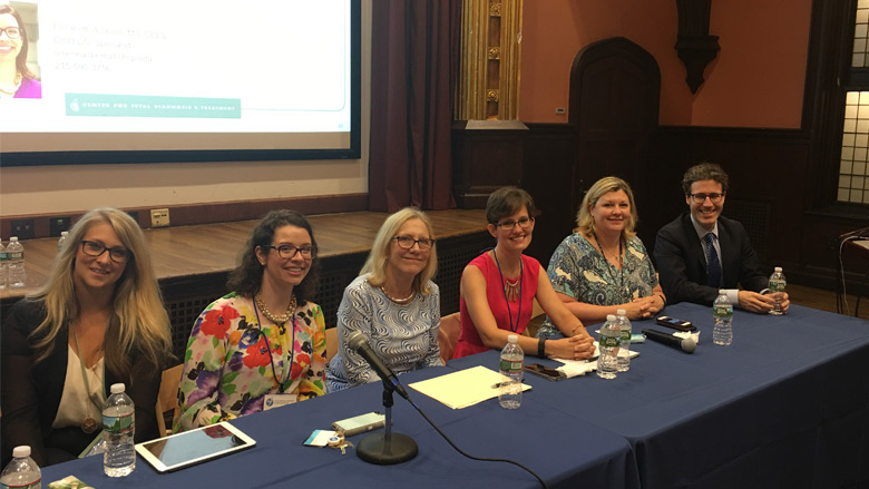 Parent panel at Postpartum Support International Conference