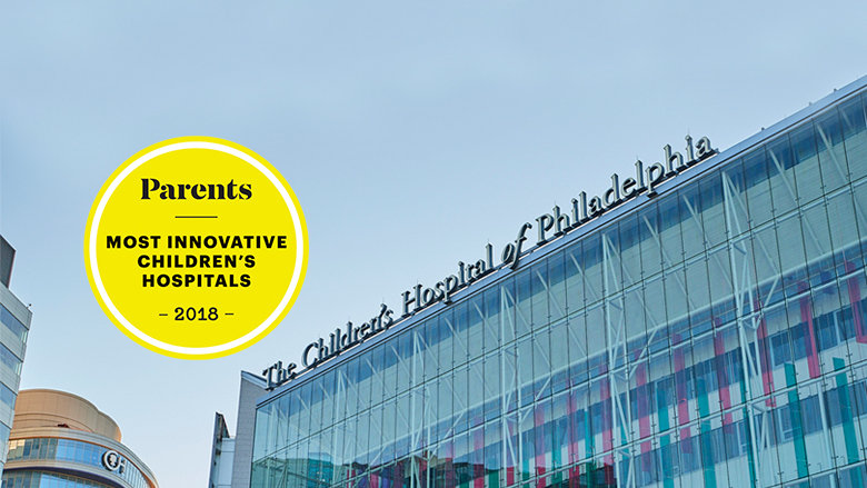 Parents Magazine Badge Most Innovative Children's Hospitals