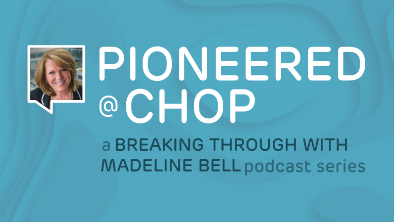 Pioneered at CHOP logo