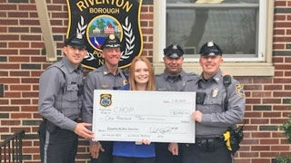 Riverton PD check presentation