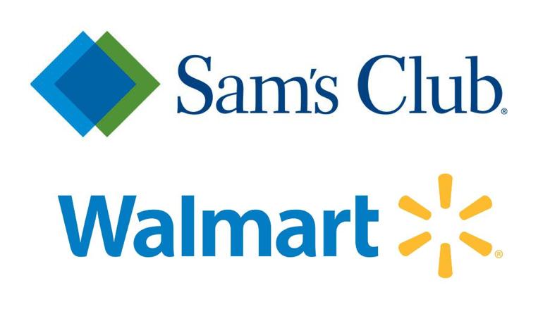 Sam's Club and Walmart logos