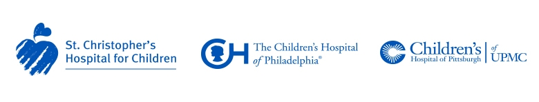 St Christopher's, CHOP and Children's Hospital of Pittsburg Logos