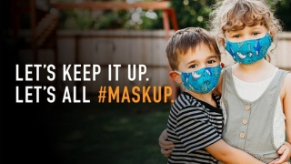 Let's Keep It Up. Let's All #Maskup