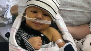 baby boy hospital patient
