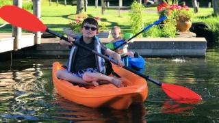 Braden Canoeing