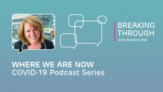 Breaking Through with Madeline Bell podcast ad
