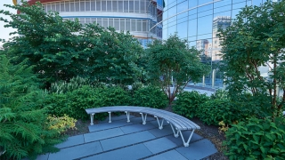 Buerger Center Garden Bench