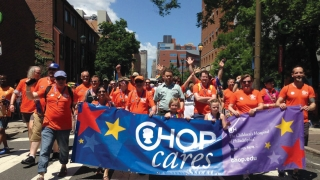 Building Partnerships to enhance CHOP's impact on the local LGBTQ community