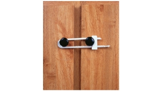 Cabinet Slide Lock 2 Pack