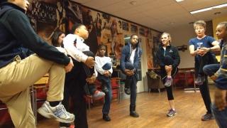 Children's fitness as part of the SPARK program