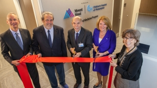 CHOP and Mount Sinai celebrate fetal milestone at ribbon cutting event