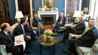 CHOP meeting with Vice President Joe Biden about the Cancer Moonshot