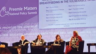 Diane L. Spatz, PhD, RN-BC, FAAN, at a 10 Steps to Breastfeeding panel