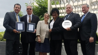 Children's Hospital is recognized for Storm Water usage by the Philadelphia Water Department