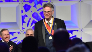 Douglas Wallace became a Franklin Medal Laureate