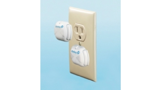 Electric Outlet Covers Deluxe Press Fit 8 Pack