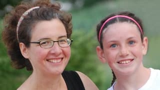 Caleigh with Terri Brown-Whitehorn, MD