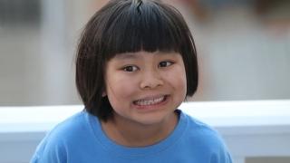 Epilepsy patient Emily Smiling