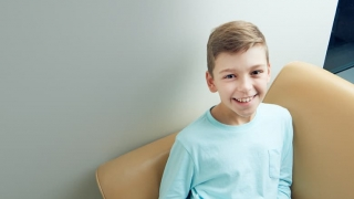 Peanut allergy patient Noah