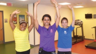 Residents and patient perform in Dance it Off video as part of their community pediatrics and advocacy program project