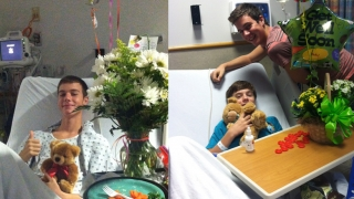 Brothers Gavin and Hudson receive treatment at CHOP